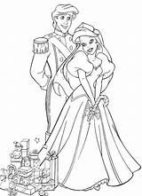 Princess Coloring Christmas Ariel Pages Mermaid Princesses Philip Colouring Printable Disney Princesse sketch template