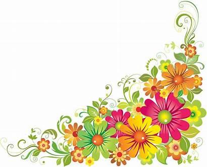 Corner Clipart Floral Transparent Flower Border Webstockreview