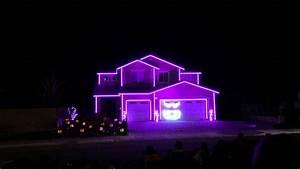 Halloween, Light, Show, House, In, Riverside, Ca