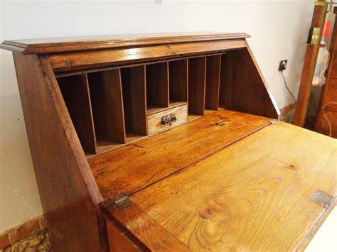 cloverleaf home interiors bureau desk arts and crafts oak c1900 antiques atlas