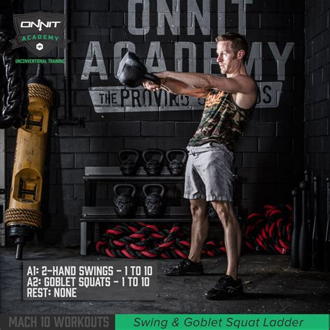 kettlebell workout ladder squat swing goblet onnit workouts academy swings mach body training rope gym lower