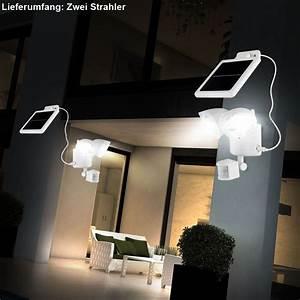 Solarlampen Mit Bewegungsmelder Und Akku : 2 x solar led au en leuchte akku haus strahler wand lampe ~ A.2002-acura-tl-radio.info Haus und Dekorationen