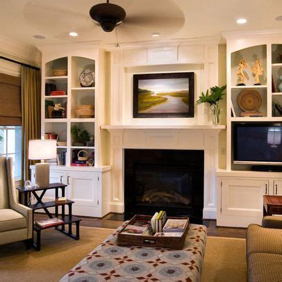 Decorating Ideas Next To Fireplace by Fireplace With Built In Bookshelves Fireplace Mantle