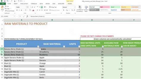 inventory spreadsheet template  excel excelxocom