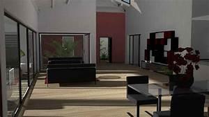 stunning maison cubique moderne plain pied photos design With plan de maison 150m2 8 aubetiere maison moderne plain pied pas cher