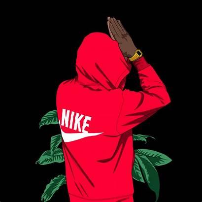 Dope Nike Cartoon Wallpapers Cool Cartoons Iphone