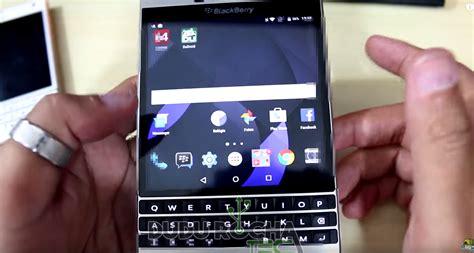 android blackberry blackberry passport on running android lag