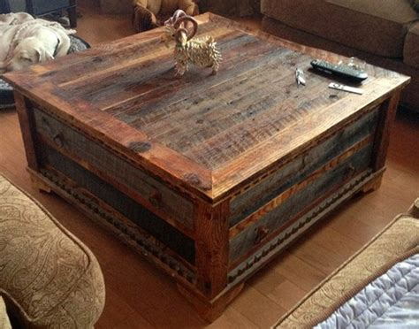 Table Of Tables by Reclaimed Wood Trunk Coffee Table Pictures