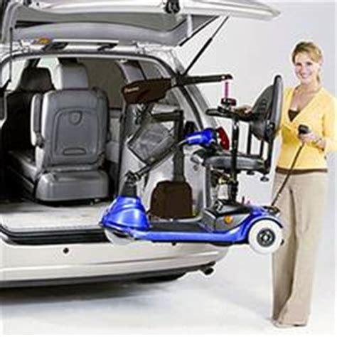 wheelchair lifts scooter and power chair carriers for