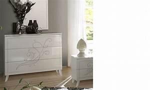 Commode Chambre Adulte : commode design blanche chambre adulte altone ~ Teatrodelosmanantiales.com Idées de Décoration