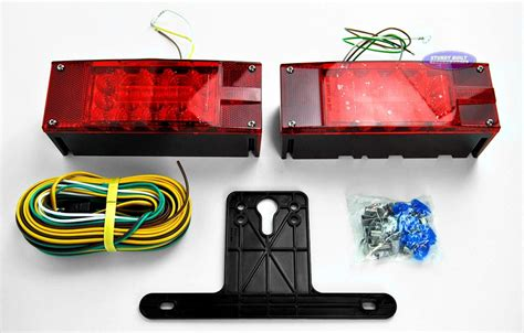 led boat trailer light kit led submersible boat trailer complete light kit low profile