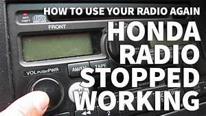 Honda Odyssey Radio Stopped Working  U2013 Anti Theft Light