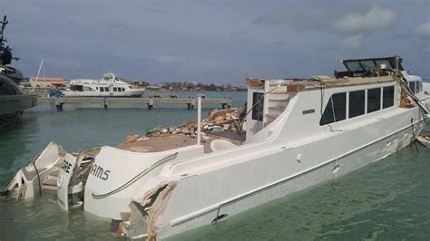 Hurricane Irma Boats Destroyed by New Footage Of Yachts Destroyed By Hurricane Irma The