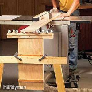 How to Build an Outfeed Table The Family Handyman