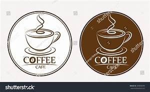 Coffee logo labels design templates stock vector 360868490 for Coffee label design template