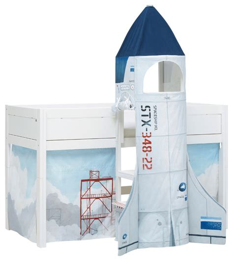 Spaceship Toddler Bed by Kid S Astronaut Rocket Spaceship Bed Modern Beds