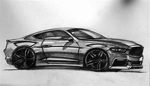 Mustang Cool Car Drawings   Anime Wallpaper