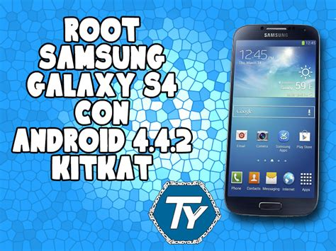 root android 4 4 2 permessi di root su galaxy s4 con android 4 4 2 kitkat guida