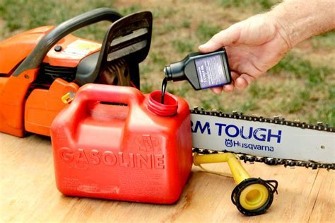 A Husqvarna Chainsaw's Recommended Fuel (with Pictures)   eHow
