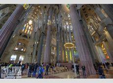 Bildergalerie des Innenraums der Sagrada Familia