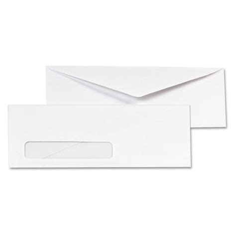 Window Envelope 10 4 1 8 X 9 1 2 White 1000 Box Thegreenoffice