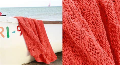 modele de plaid a tricoter gratuit le plaid corail en point fantaisie prima