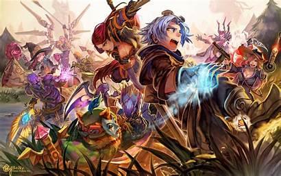 Legends League Anime Wallpapers Lol Animated Desktop