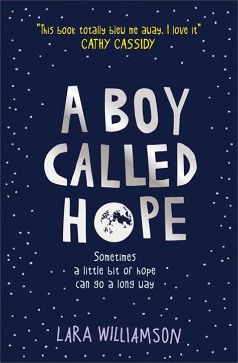 book zone review  boy called hope  lara williamson