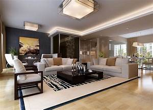 Living room dining room contracted design hd 3D house