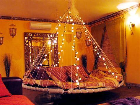 lights around bed floating bed lights interior design ideas