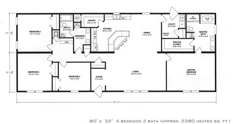 6 Bedroom Ranch House Plans With 6 Bedroom Modular Homes