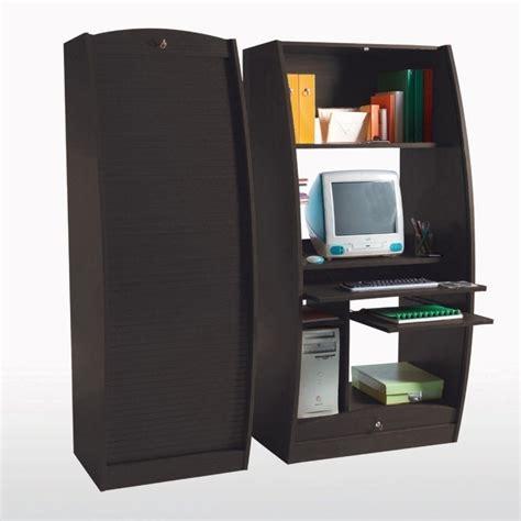 bureau fermé pour ordinateur meuble ferme pour ordinateur bureau bureau ordinateur
