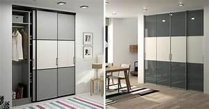 Fabriquer Sa Porte Coulissante Sur Mesure : la bonne id e d co une porte de placard sur mesure ~ Premium-room.com Idées de Décoration