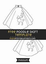Poodle Skirt Template Sponsored Links sketch template