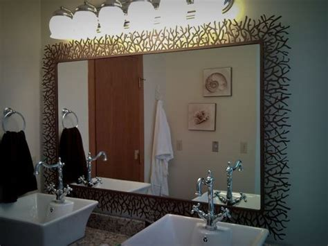 Custom Made Bathroom Mirrors by Crafted Bathroom Custom Metal Privacy Screen And