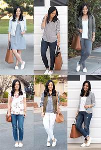 Ways to Wear White Slip-On Sneakers - Putting Me Together