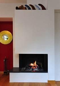 Installer Une Cheminée : pose de chemin e contemporaine bordeaux chemin es fariello ~ Premium-room.com Idées de Décoration