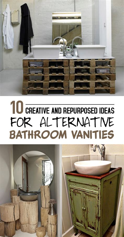 Unique Bathroom Vanities Ideas by 10 Creative And Repurposed Ideas For Alternative Bathroom