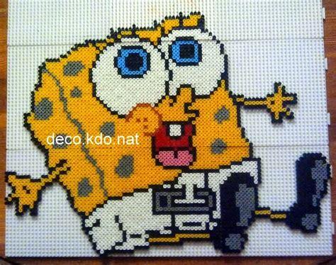 27 Best Perler Beads Sponge Bob Images On Pinterest