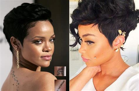 Best 34 Pixie Short Haircuts For Black Women Mid Back Haircuts Best Haircut For Long Chin By Ring Lardner Summary Layered Medium 2017 Plus Burlington Vt Varsity 3mm Number High Forehead
