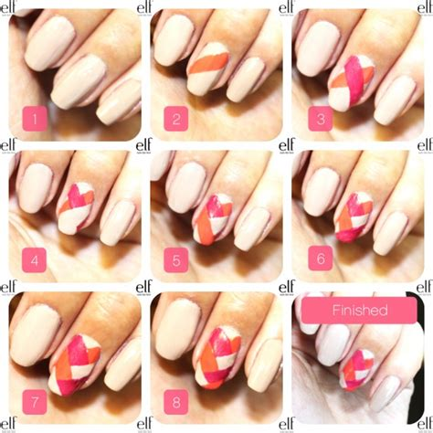 easy nail designs step by step 15 and easy nail tutorials to try this summer