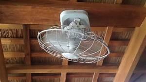 3d Brand Orbit Ceiling Fan In A Massage Area