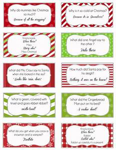 Elf On The Shelf Printable Joke Cards Over The Big Moon