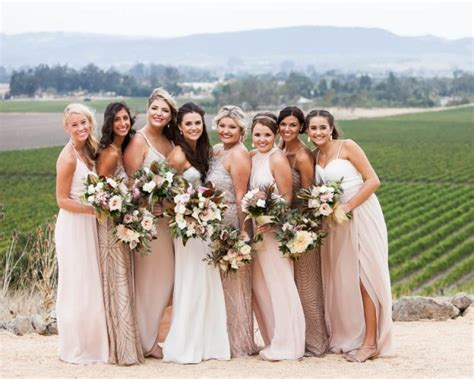 Champagne And Burgundy Wine Country Wedding At Gloria