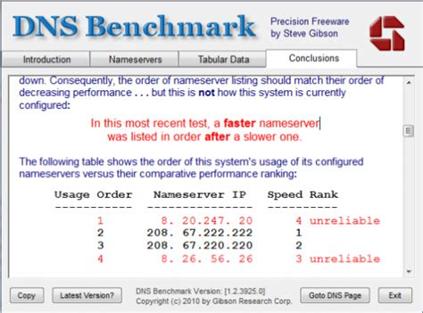 dns benchmark optimize  internet connection  speed