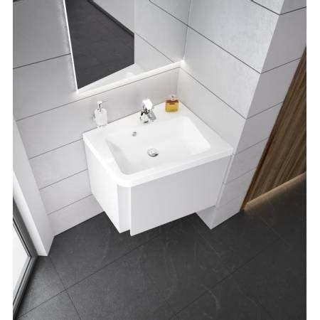 lavabo dangle blanc gain de place