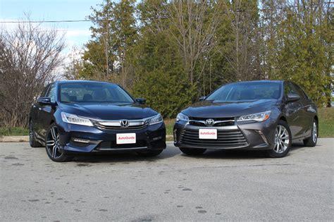 Toyota Vs Honda by 2016 Honda Accord Vs 2016 Toyota Camry Autoguide News