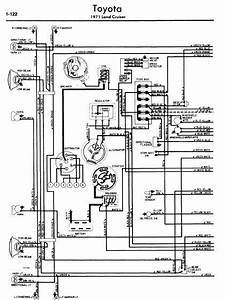 Toyota Land Cruiser 1971 Wiring Diagrams