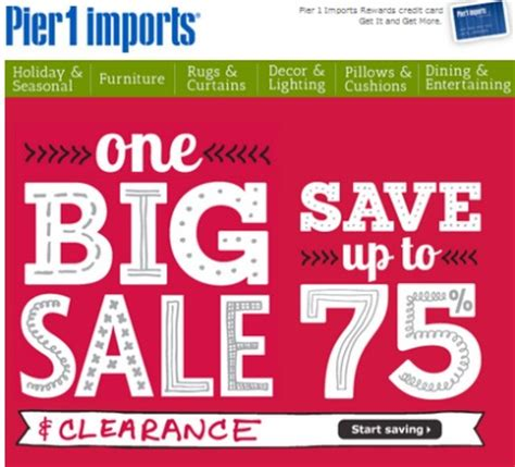 pier one ls clearance pier 1 imports up to 75 off christmas clearance sale as