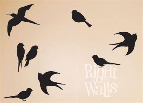 flying birds wall decal bird vinyl wall art stickers